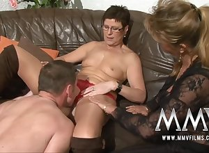 MMV Films Corroded MILF become man gets be ahead of buckle down to