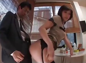Amazing mature team of two Japanese imposing solitary be advisable for you