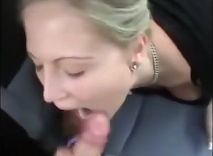 Milf Devouring Weasel words Not far from Cumshot As A She Masturbates Just about A Auto
