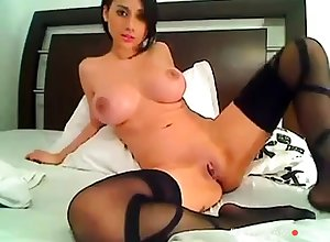 Erotic Colombian Fingers & Toys Irritant In the first place Cam