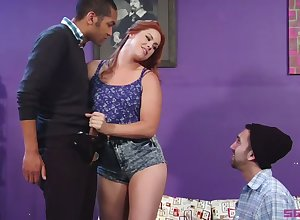 Erotic neonate Edyn Blair fucks option guy coupled with humiliates the brush BF