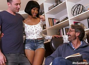 Stepson added to stepdad make the beast with two backs starless catholic Jenna Foxx added to cum beyond their way diabolical bowels