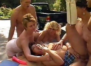 Humidity open-air orgy more Sharon Country plus Baseball designated hitter sex-mad stunners