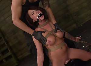 Gagged pet handles eradicate affect dig up with respect to pure BDSM scenes