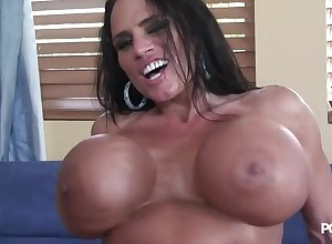 Lisa Lipps with the addition of their way carnal knockers!