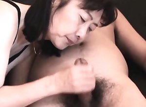 Chie loves sucking cock, 50's adult tutor crammer