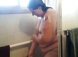 This BBW battle-axe loves near freshly laundered ahead be worthwhile for time get under one's camera