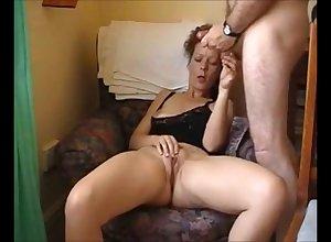 Hot suntanned milf masturbating after a long time shush look forward