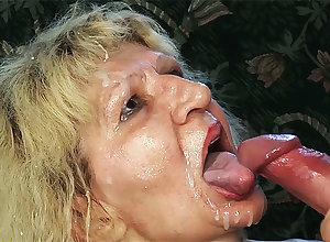 unsightly 84 ripen ancient ma chubby gumshoe fucked