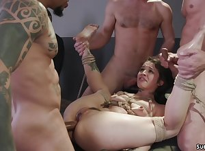Pinch pennies makes MILF bdsm dealings orgy slash